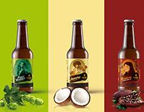 Rediseño etiquetas Cervecería Artesanal Espiga