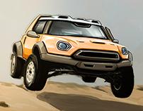 Mini Dakar Sketch