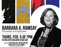 FSU Guest Art Speaker: Barbara A. Ramsay