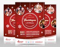 Flyer - Vier de feestdagen