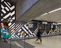 Boxpark Shoreditch 2014 —Deconstructing The Chevron