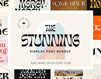 The Stunning Display Font Bundle - 95% Off