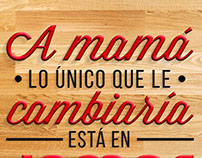 Lettering | Madres 2015
