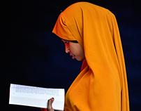 Somali refugee women portraits