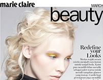 MARIE CLAIRE IND- BEAUTY MARCH 2016