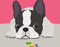 Dog series, Artwork