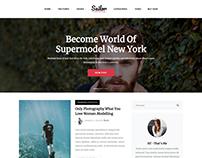 Sailor - A modern html blog template