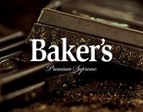 BAKER'S Premium chocolate