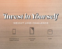 Weight Loss Challenge Infographic