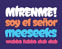FREE Display Font Graffismo