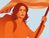 Kamala Harris. The Pioneer
