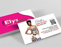 Elys Moda - Business Card