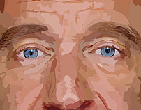 2015 | Robin Williams' Digital Illustrated portrait