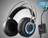 Free 3d Model Steelseries Siberia Elite