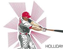 Matt Holliday Illustration