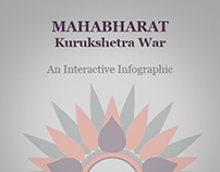 Interactive Infographic on Mahabharat