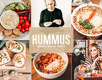 Free Hummus Mobile & Desktop Lightroom Presets