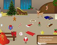 Illustration d'un jeu sur le thème de Noël
