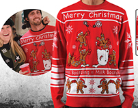 Sometimes The Uglier The Better! Ugly Christmas Sweater
