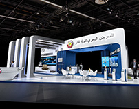 Qatar maritime exhibition stand-DIMDEX