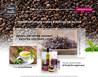 Coffee and Tea Website