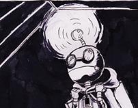 Robot mini-comic.