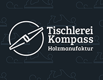 "Carpentry ""Tischlerei Kompass"" - Website and Branding"