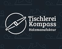 "Carpentry ""Tischlerei Kompass"" - Website and Branding"