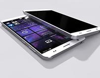 Lumia concept - metal design