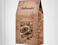 Belhamels - Cookies -Product Bag & Label