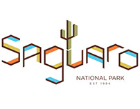 National Parks Typography