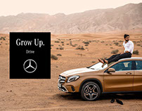 Mercedes Benz - Grow Up - Take a Weekend Trip