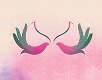 Cervical and Breast cancer awareness motif