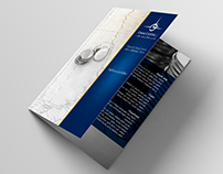 Bifold flyer design for Cham Capital