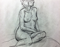 Figure Drawing: Female Model