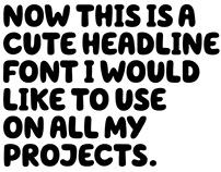 Hello Headline Typeface