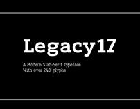 Legacy'17 Slab-serif Typeface