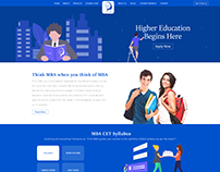 MBA Website Design