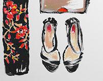 A C R Y L / Fashion editorial sketches