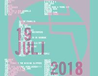 Eendrachtfestival - poster