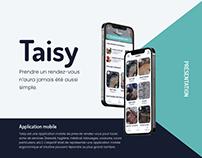 Taisy - Application de prise de rendez-vous