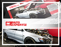 Auto Expertiz / Dyno & Crash Test Center Web Design