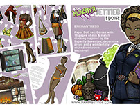 Paper Dolls - Monster Betties - Eloise