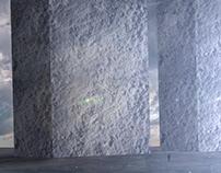 Through vertical columns