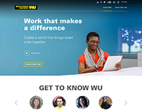 Western Union Careers Website Redesign