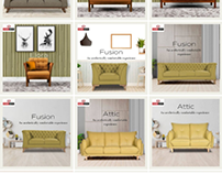 Graphic Content Curation For Interior & Lifestyle Brand