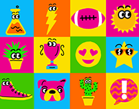 Nickelodeon May On-Air Icons