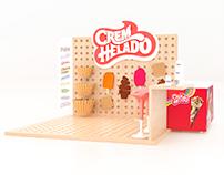 Cremhelado - Stand modular