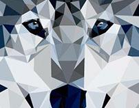 Polygon Art - Wolf