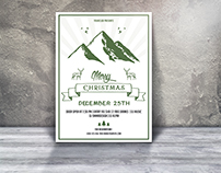 Handmade Style Christmas Flyer